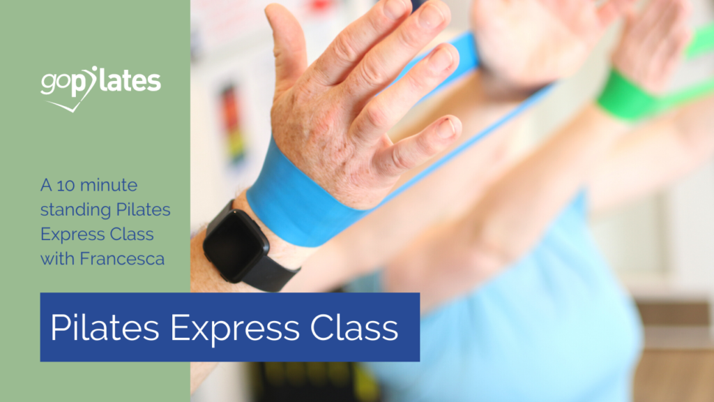 Pilates Express with Resistance Band Class 1 with Francesca