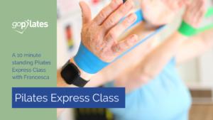 Francesca Resistance Band Pilates Express Class YouTube Thumbnail