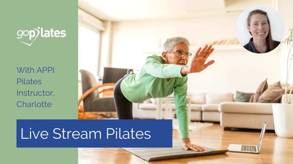 Beginners Pilates Class with Charlotte – Live Stream November 2020