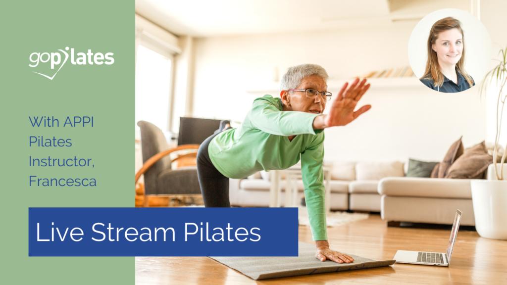 Intermediate Pilates Class with Francesca – Live Stream 1 October 2020