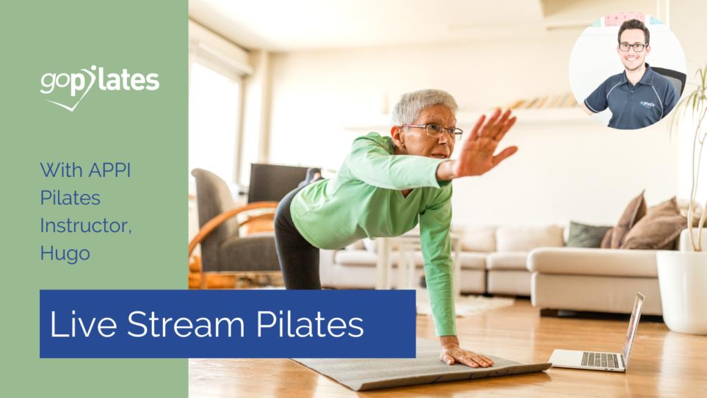 Beginner Pilates Class with Hugo – Live Stream 2 October 2020
