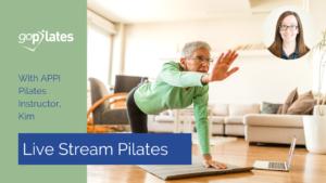 Live Stream Pilates with Kim YouTube Thumbnail