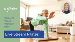 Live Stream Pilates with Rosie YouTube Thumbnail