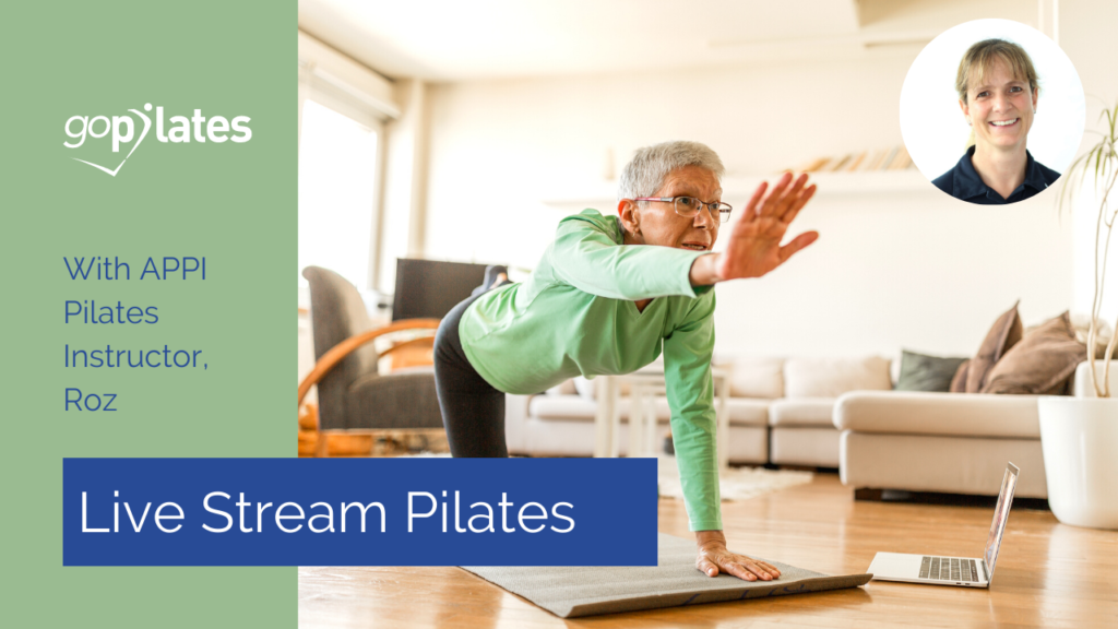 Beginner Pilates Class with Roz – Live Stream October 2020