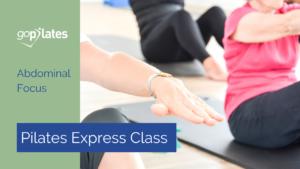 Pilates Express Abdominal Focus YouTube Thumbnail