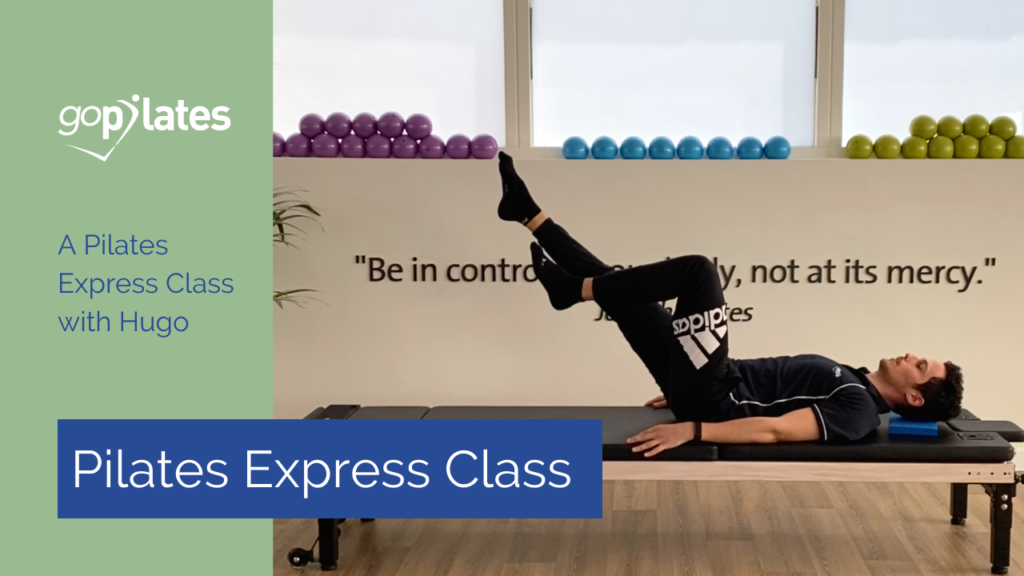 Pilates Express Mobility Series with Hugo