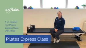 Pilates Express with Rosie Youtube Thumbnail