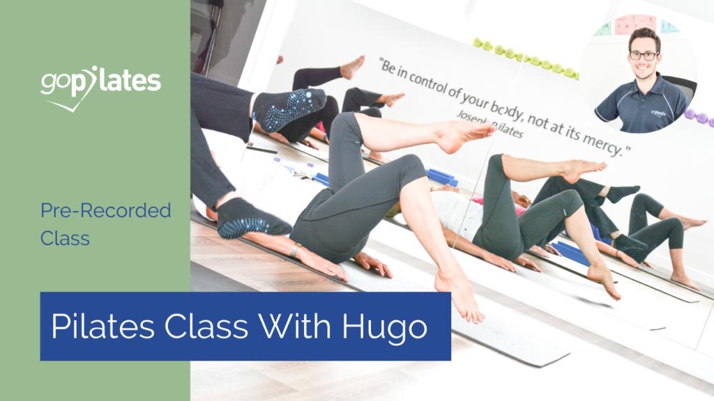 Beginner Pilates Class 4 with Hugo