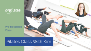 Pre Recorded Class with Kim YouTube Thumbnail