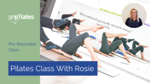 Pre Recorded Class with Rosie YouTube Thumbnail