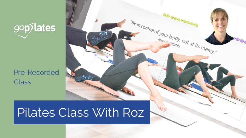 25min Advanced Pilates with Roz – January 2021