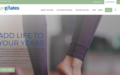 New Pilates Online Platform from goPhysio!