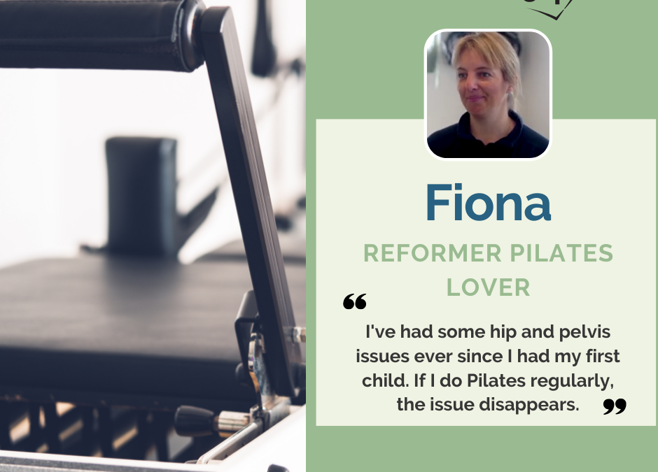 My Personal Pilates Story, Fiona