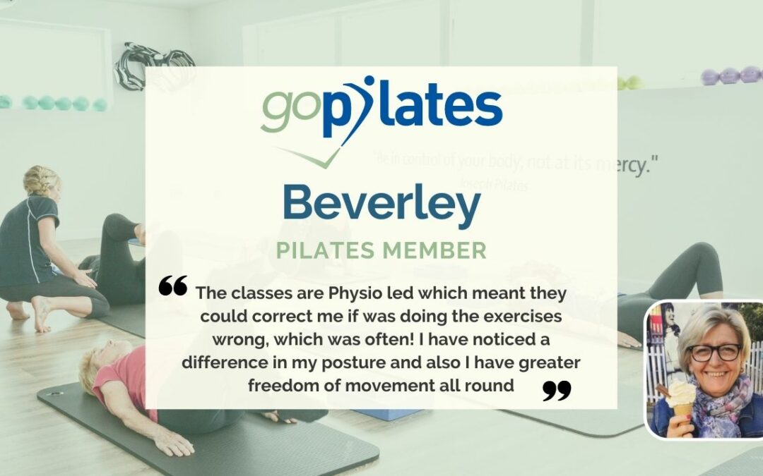 My Personal Pilates Story, Beverley