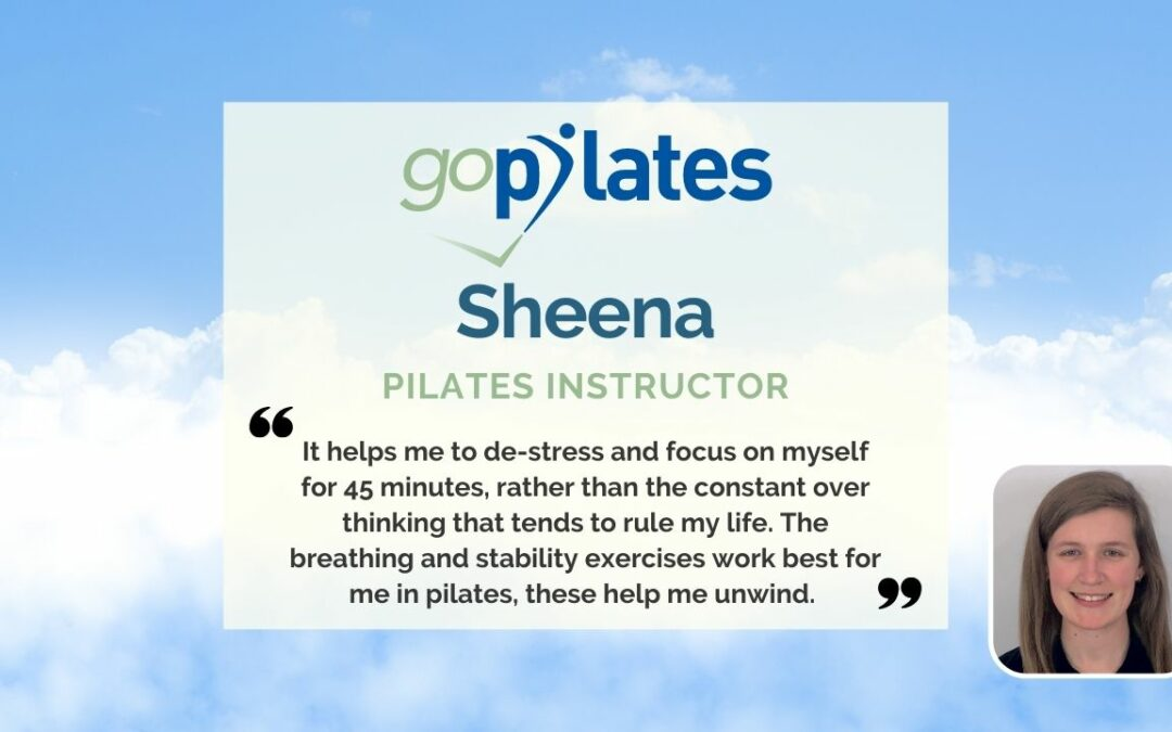 My Personal Pilates Story, Sheena