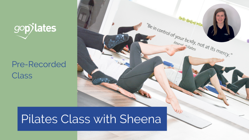 Beginners Pilates Class 1 with Sheena, with Resistance Band