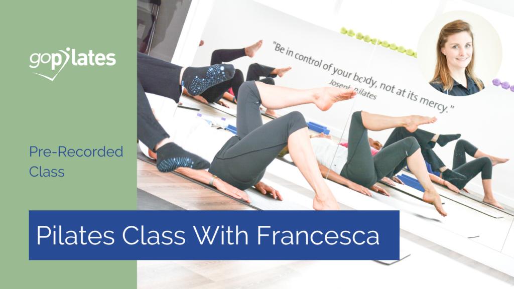 Mixed Level Mat Pilates Class 1 with Francesca