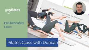 Pre-recorded class with Duncan