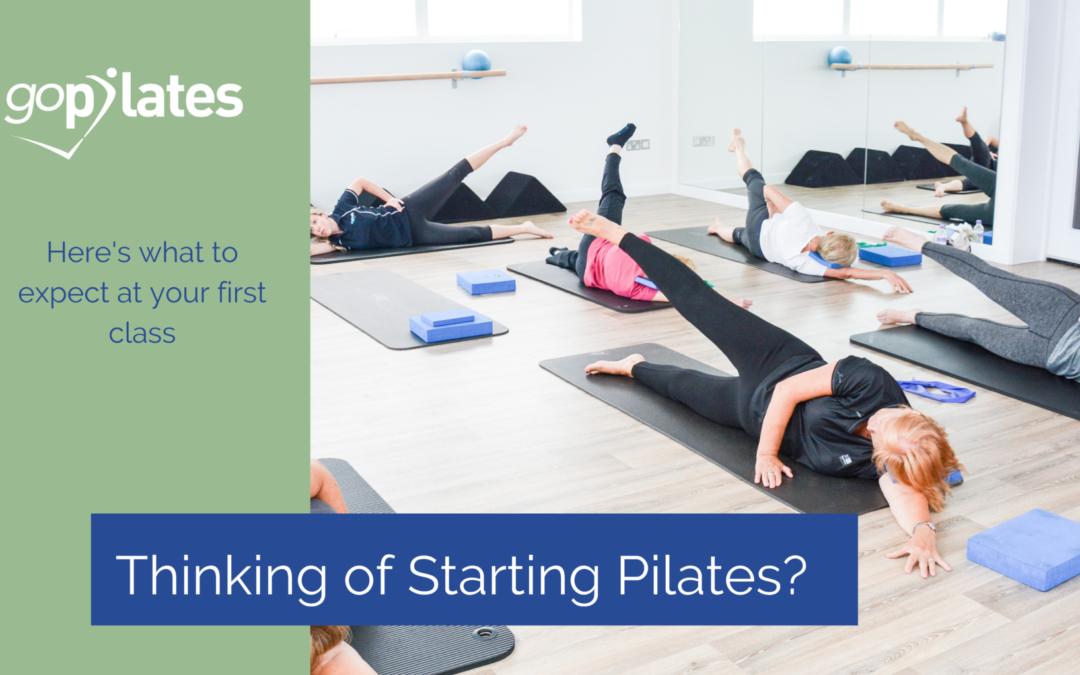 Thinking of Starting Pilates?