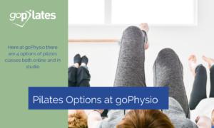 Pilates Options at goPhysio
