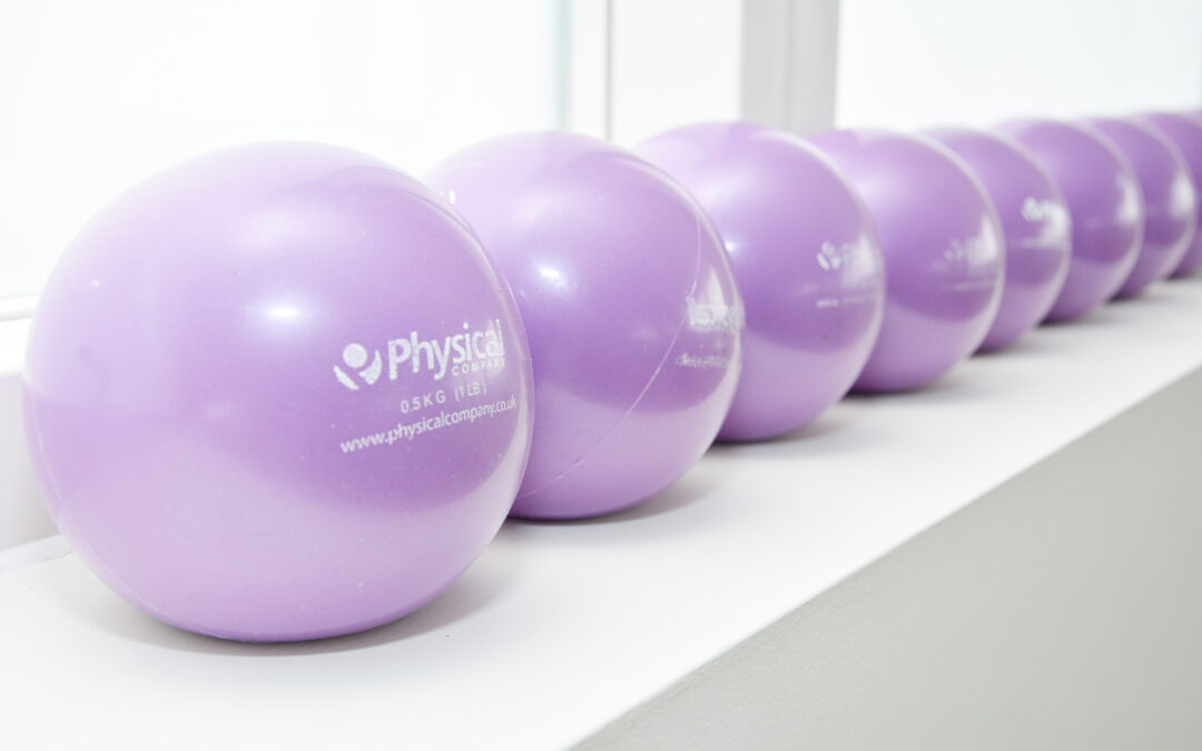 Getting On The Ball With Pilates