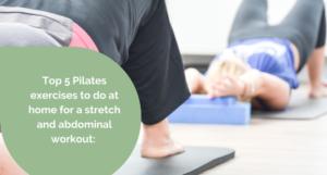 Top 5 Pilates exercises Abdominal workout
